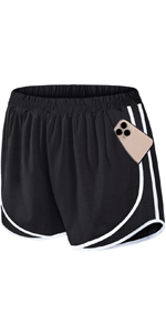 Athletic Shorts with Pockets