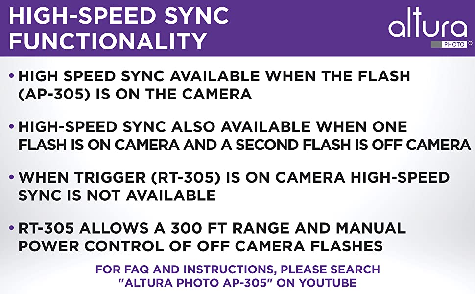 Flash on Camera Features