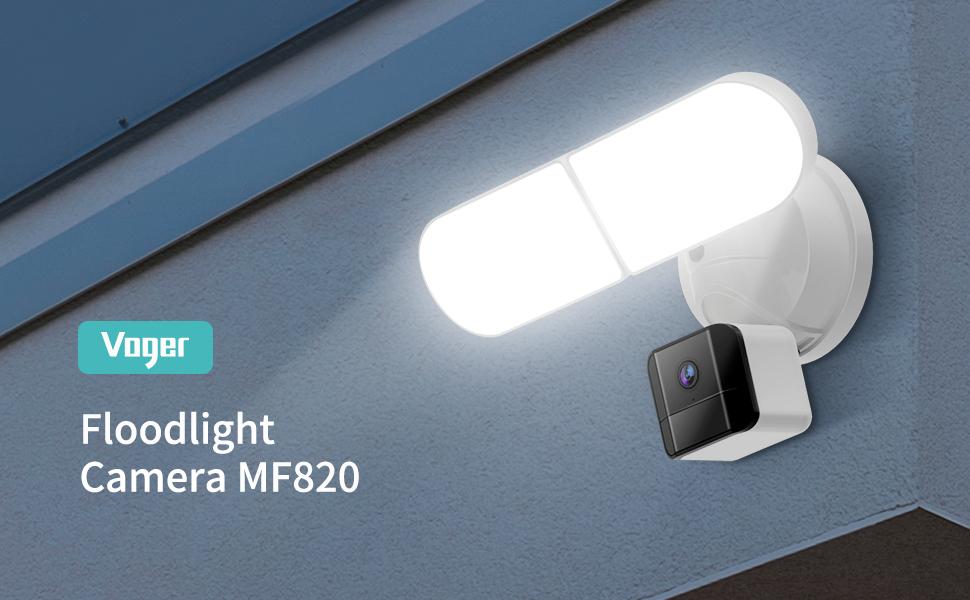 Floodlight Camera, Security Outdoor Camera, Security Camera, CCTV Camera, HD Camera, Surveillance