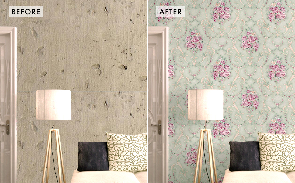damask contact paper hotel home decor peel and stick removable homeowners renters