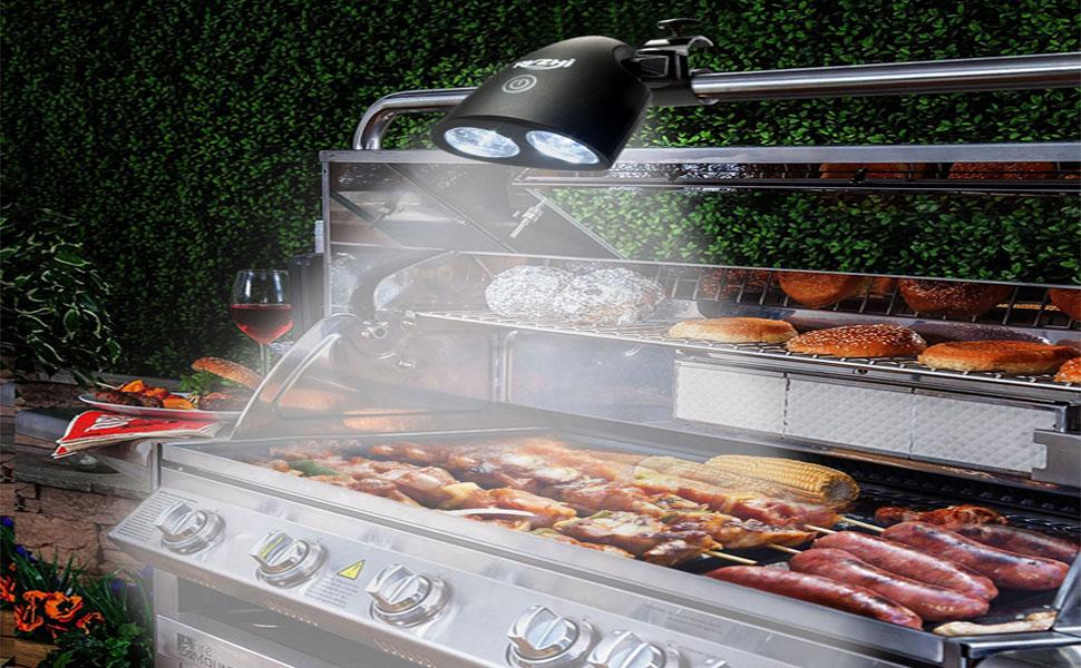 Char-Broil DEL Grill Lumière Support de montage Bbq Outils Accessoire Barbecue Lights