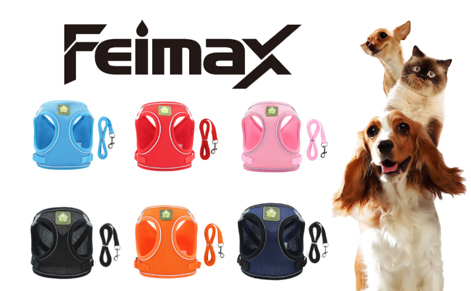 Dog harness for dogs cats