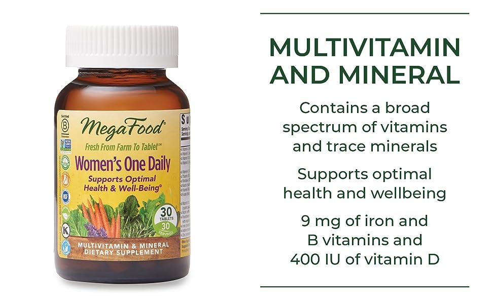 Multivitamin and mineral