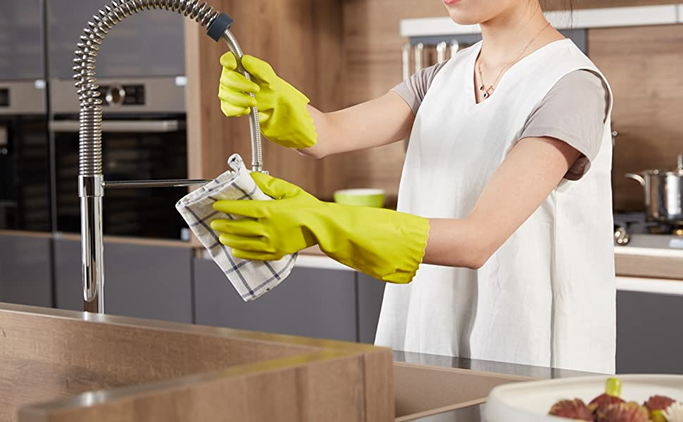 PVC Household Cleaning Gloves