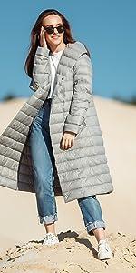 Amazon.com: Chaquetas de Mujer Invierno Goose Chamarras ...