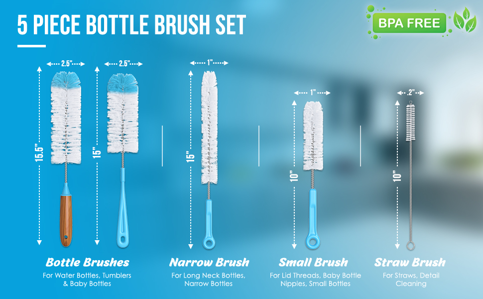 bottle brush set