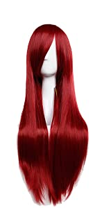 straight cosplay wig