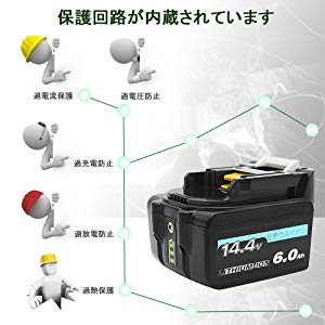 過電流保護、過充電防止、過放電防止自動防止制御でバッテリーを守り抜きます。