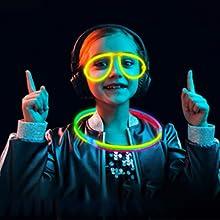 barre luminose con connettori glow stick bracciali  Farfalla di bracciali,bicchieri luminosi