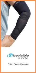 arm compression sleeves elbow support brace for men women basketball cricket baseball footy recovery