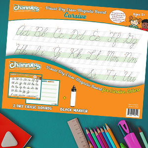The 2-pack dry erase sheets are also a great resource for special education