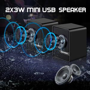 2X3W MINI USB SPEAKER