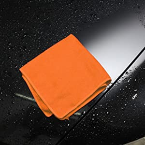 Detailing Cleaning Cloths Microfiber Drying Cloth Chamois Wash Cloth lint and streak abrasive free