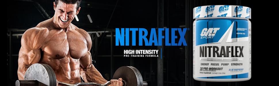gat sport nitraflex pre workout energy
