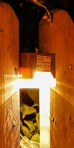 ソーラーライト 暖色系 ガーデンライト 庭園灯 階段ライト 屋外照明 防水 防犯 明暗センサー 太陽光発電 屋外 庭 足元 柵 おしゃれ 4個セット