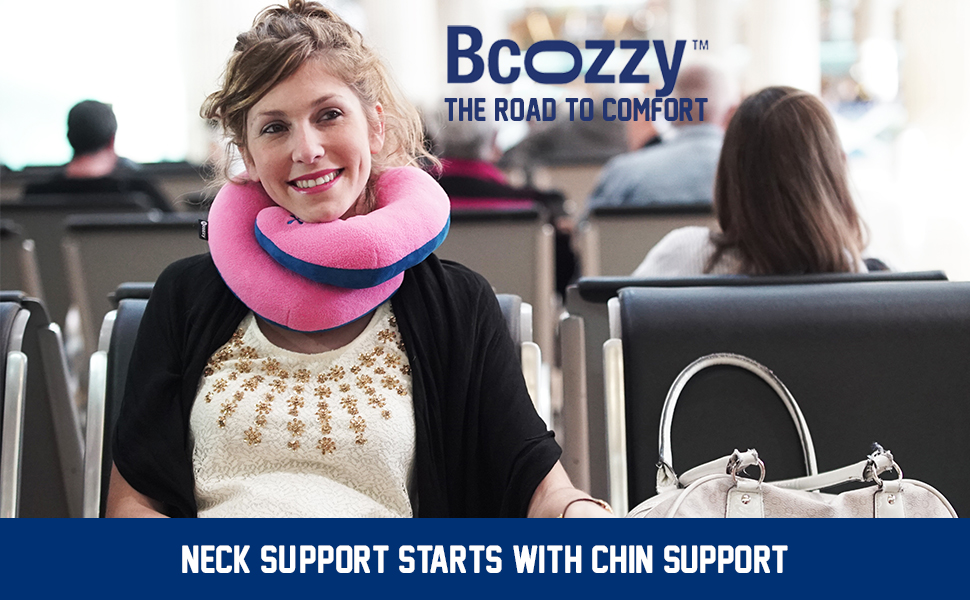 BCOZZY, travel pillow, Trtl