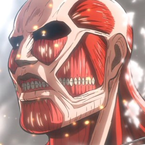 Anime Battle Giant Action Fighting Cartoon Monster Wall Manga Fantasy Horror Rose Sheena Colossal