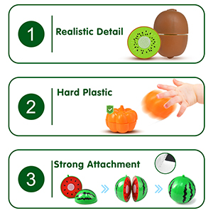 kids toys fruits and vegetables cutting vegetables cutting toys for kids in suitcase magnet