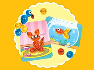 Spyrosity Paper Quilling Cards Art and Craft Activity Sets