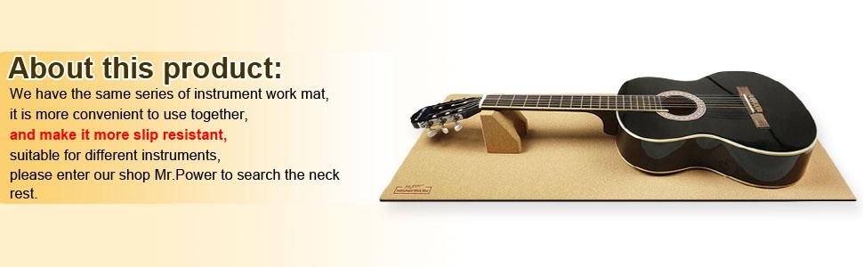 Guitar Neck Rest Work Mat