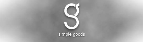 simple goods logo banner digital meat thermometer