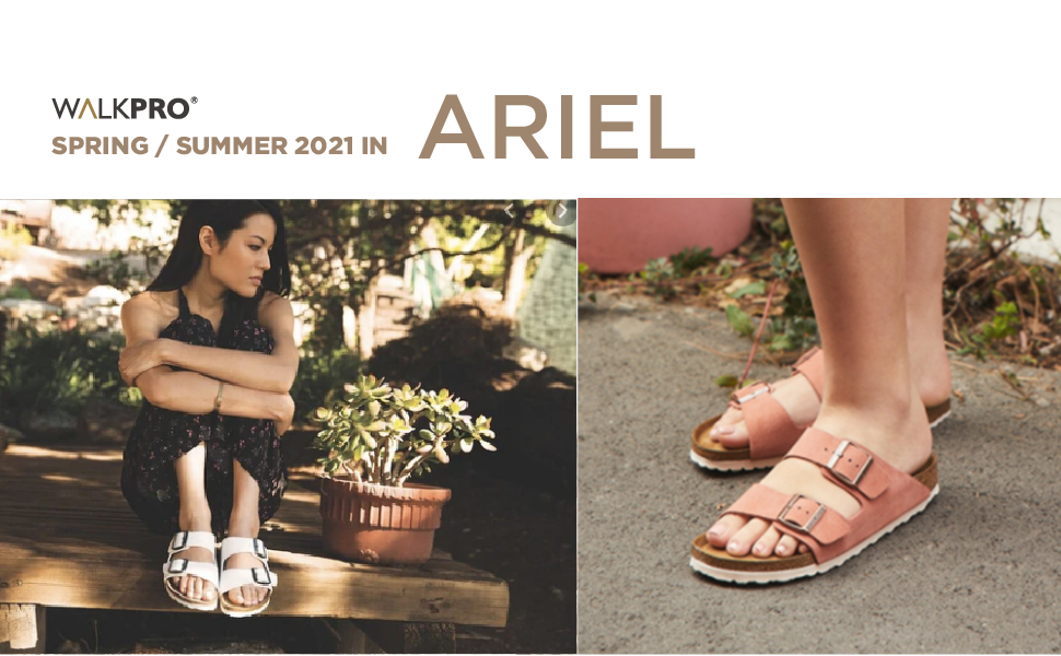 Women'S Sandals Womens Womans Mens Unisex Sandals Arch Support Size 9 Cork Footbed Sole With