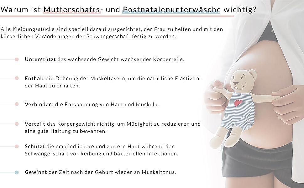 RelaxMaternity 5200 Miederslip postnatal aus Baumwolle