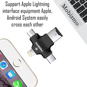 Connect with iphone , macbook laptop pc ipad mini computer windows ios