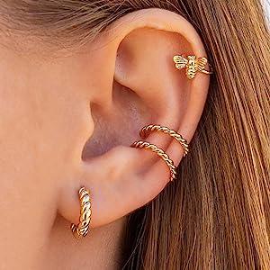 rope earrings clip on