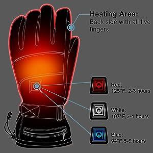 heated gloves men women gloves electric gloves