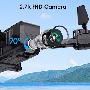 2.7K FPV Camera Real-Time Transmission