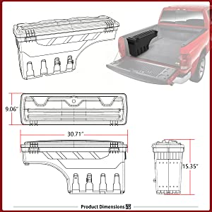 Also for 2020 Chevy Silverado//GMC Sierra 1500//2500 HD//3500 HD JOJOMARK for 2019 GMC Sierra 1500 Accessories Chevy/Silverado 1500 Center Console Organizer Tray Full Center Console Models Only
