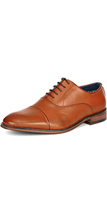 Men's Lace Up Oxford Formal Dress Shoes