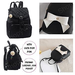 college schooll girls bag backpack womens mini leather cute mini pink unicorn rakhi gifts for sister