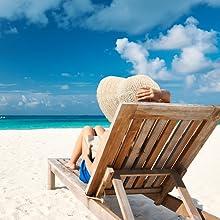 PACOLO Faltbare breite Krempe weiche Krempe Strohhut Sonnenhut Sommer Strandhut Damen M/ädchen
