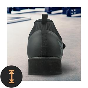 Powerlift scarpe da donna per sollevamento pesi, bodybuilding, bodybuilding