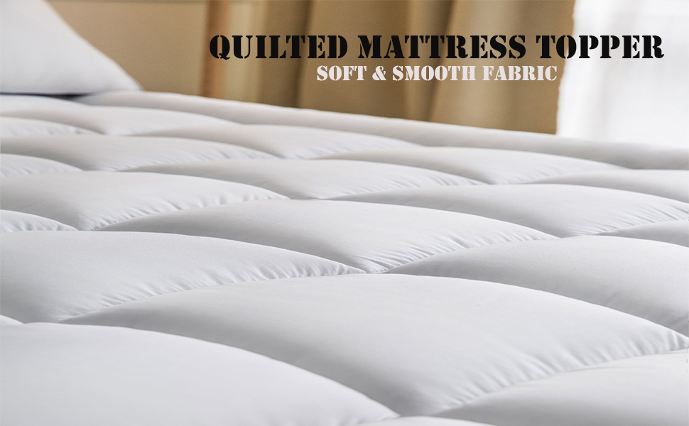 Amazon Com Mattress Topper Full 54x75 Inches Quilted Plush Down