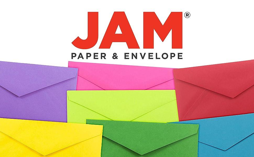 jam paper monarch colored envelope
