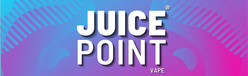 Juice Point Vape E-Liquid Logo Header