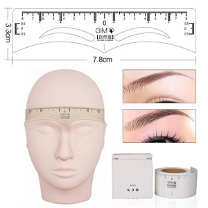 eyebrow ruler