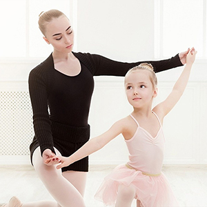 Girls Skirted Leotard Shiny Practice Dancewear