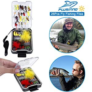 fly fishing flie kit