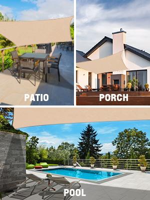 sun shades for patios