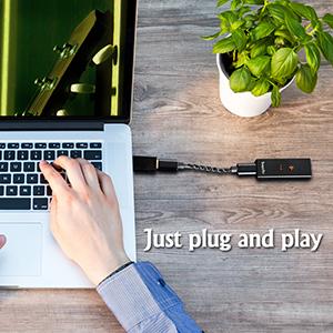 Just plug and play