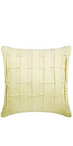 Cream Love Tune Pillow Covers