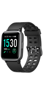 yamay smart watch for men women android iphone samsung