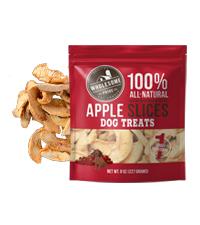 wholesome pride, apple dog treats, healthy dog treats, gluten free dog treats, single ingredient