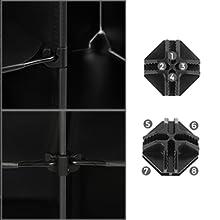 Plastic Cube Shoe Rack