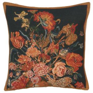 Flora Cotta I Belgian Tapestry Cushion Cover