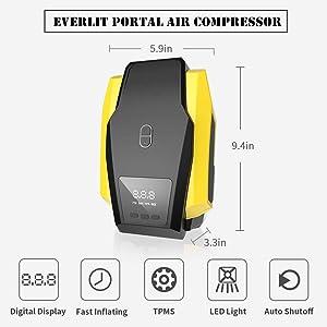 Air Compressor with Digital Monitor